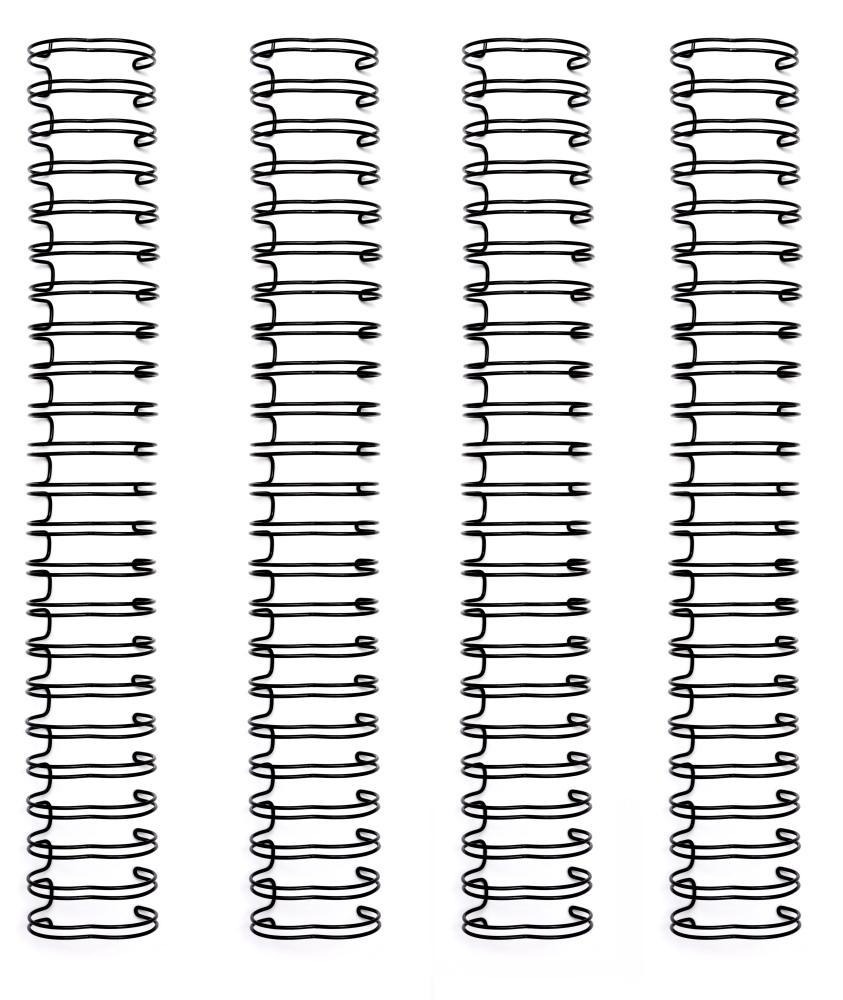 Cinch Binding Wire, .625 Inch - Black (4pc)