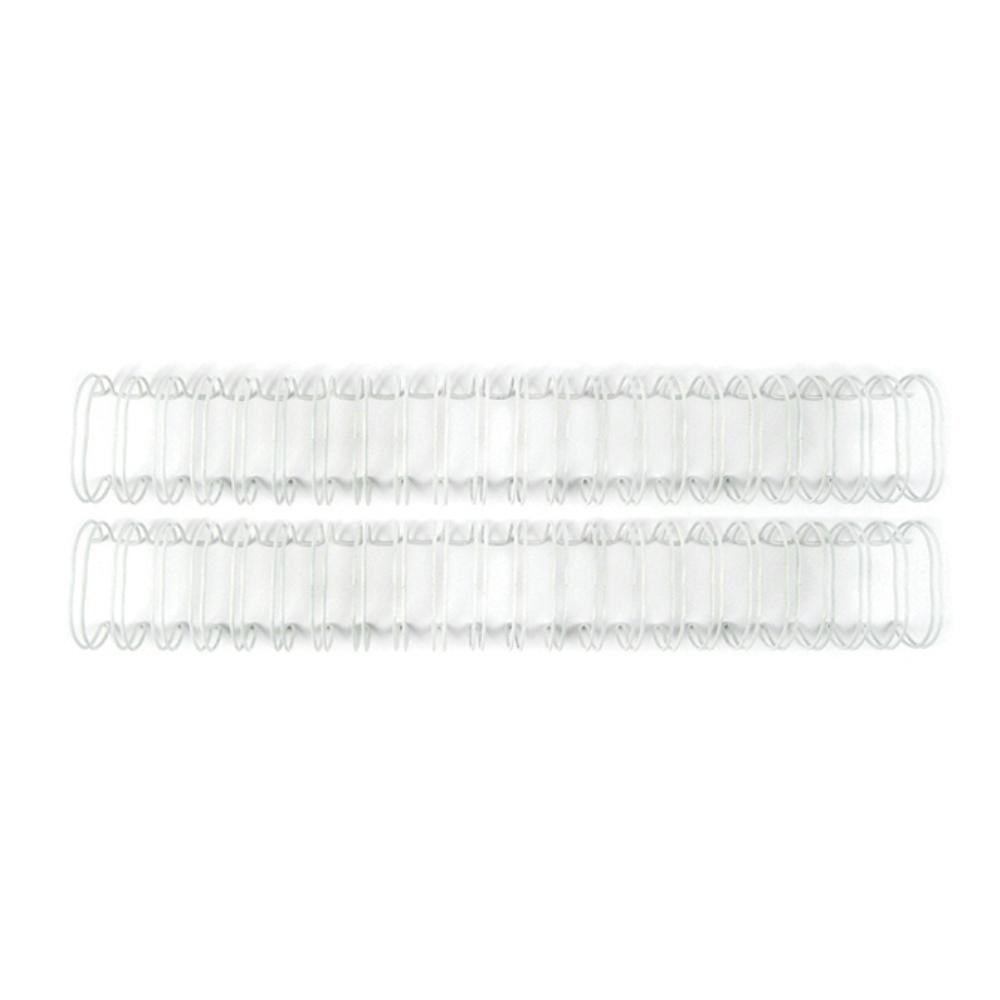 Cinch Binding Wire, 1.25 Inch - White (2pc)