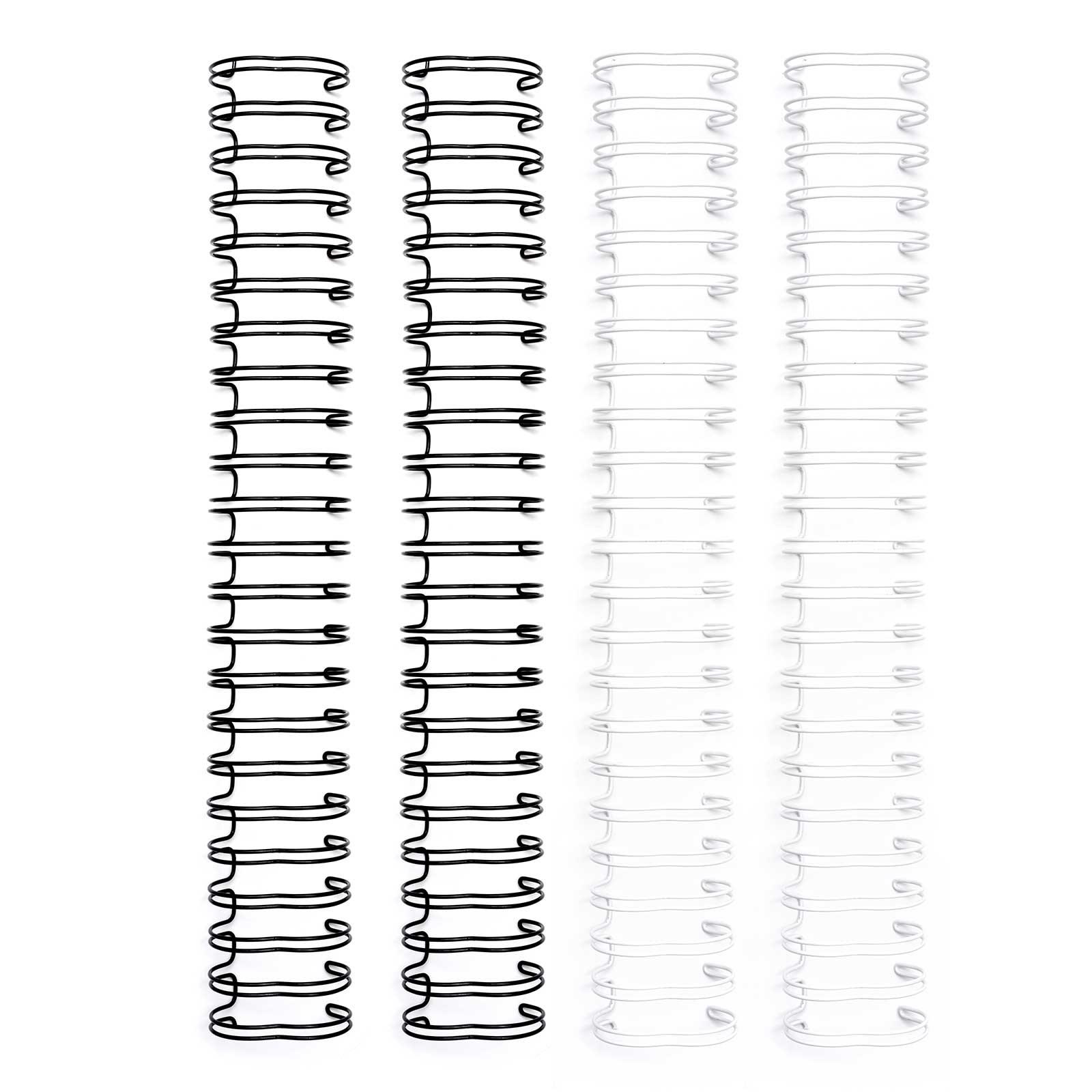 Cinch Binding Wire, 1in - Black & White (4 Piece)