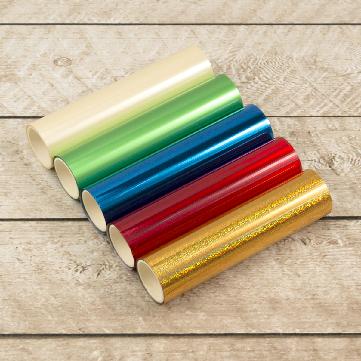 Foil Roll Pack, Christmas Colors (5 Pack)