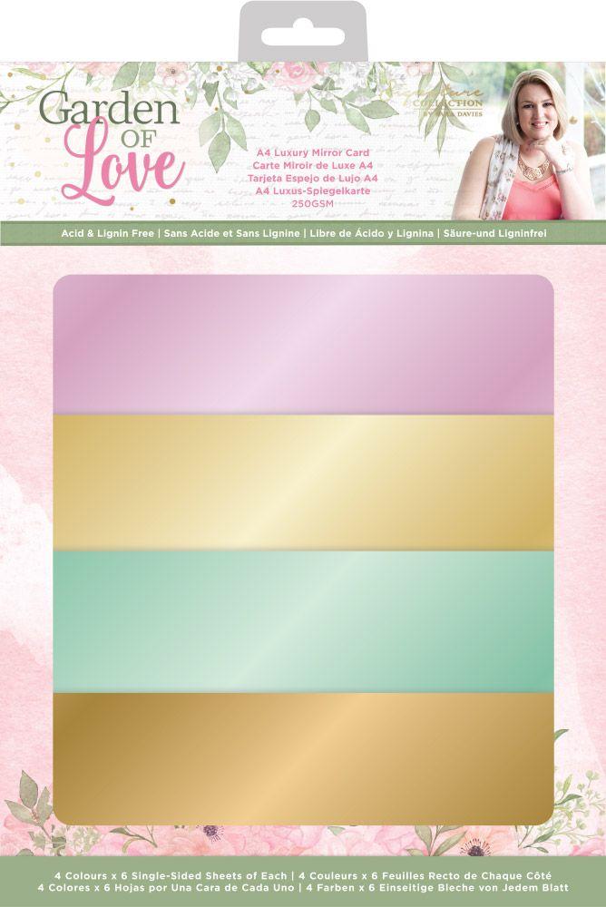 Sara Signature Luxury Mirror Cardstock, Garden of Love