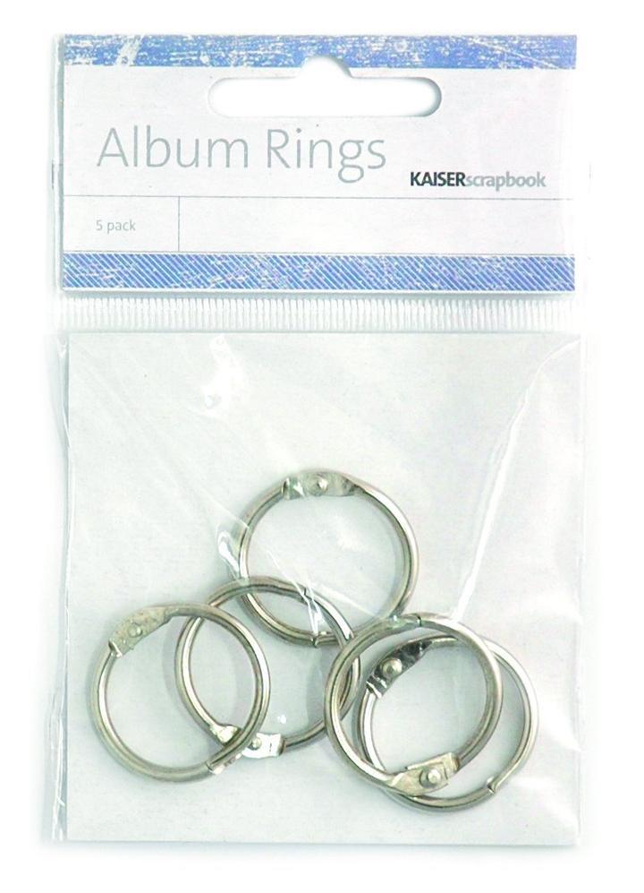 Album Rings, 2.5cm Silver