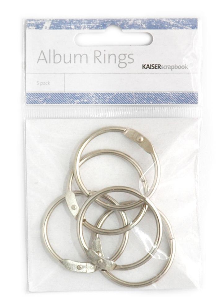 Album Rings, 3.5cm Silver