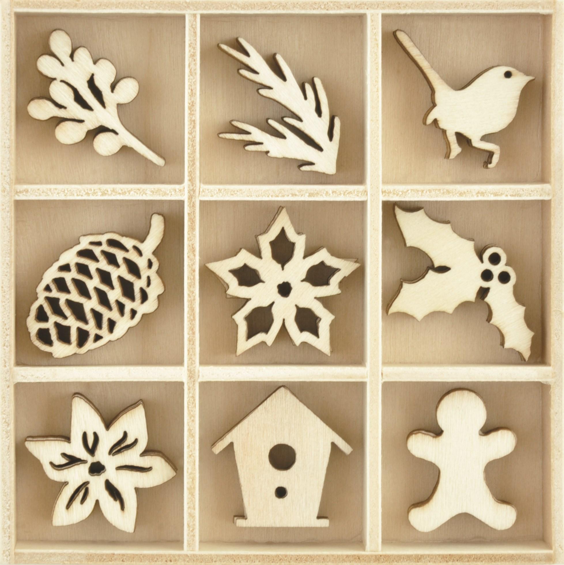 Flourish Pack, Festive Foliage (45pcs)
