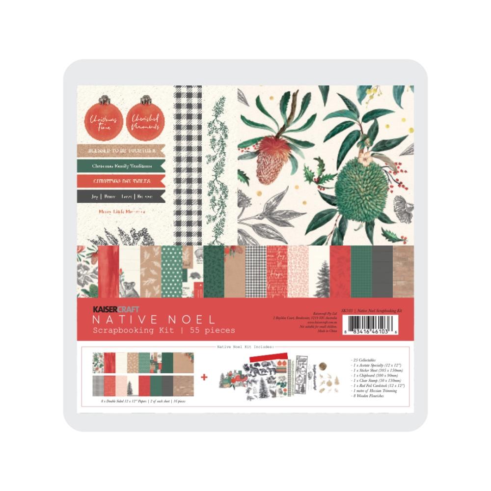 Scrapbooking Kit, Native Noel