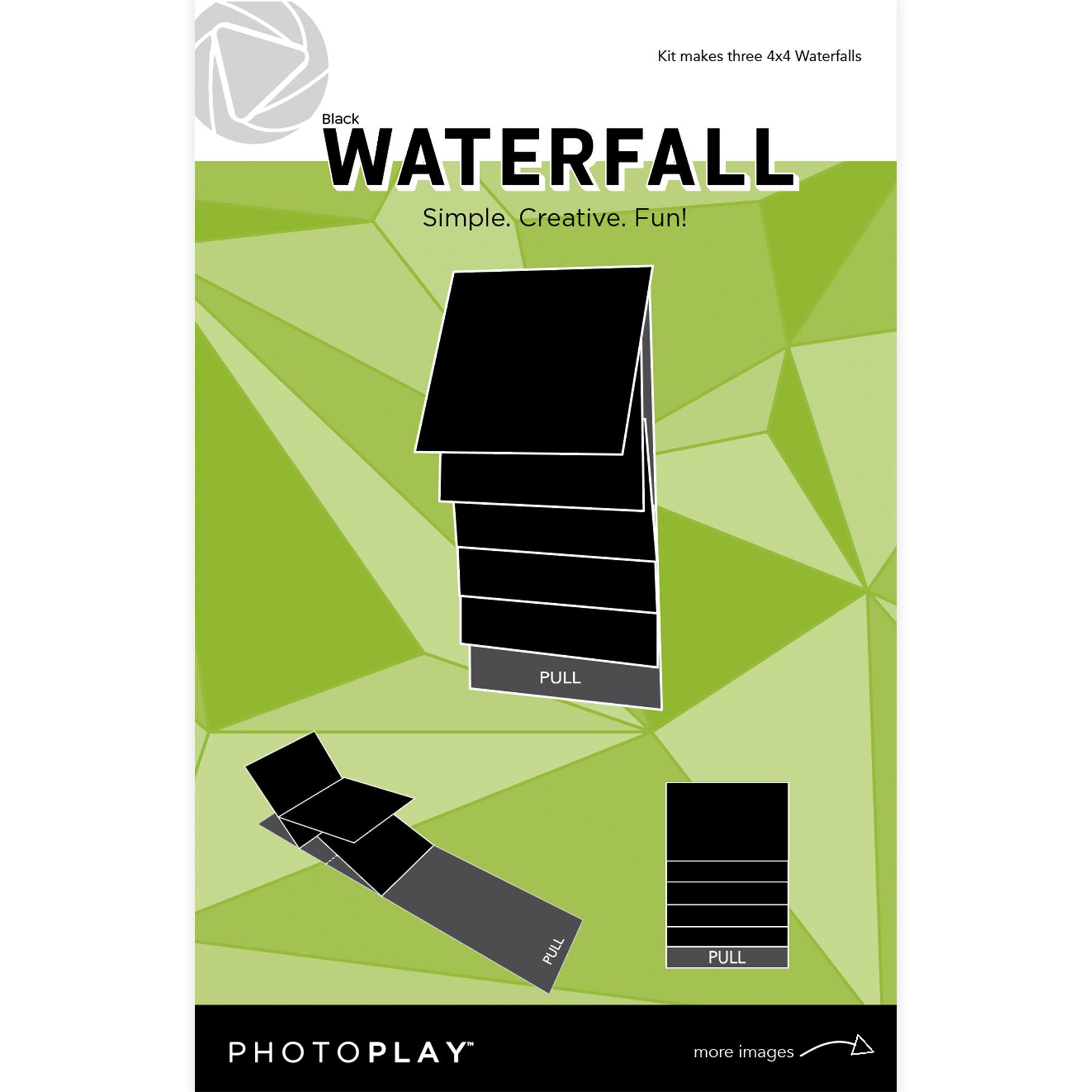 4X4 Waterfall Kit, Maker's Series 2 - Mechanical (Black)