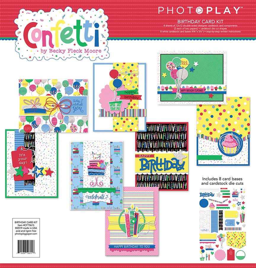 Card Kit, Confetti