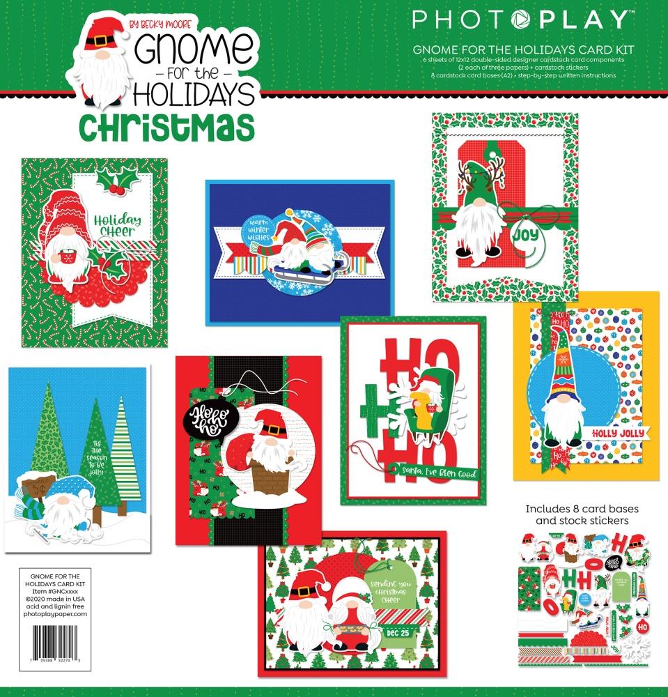 Card Kit, Gnome for Christmas