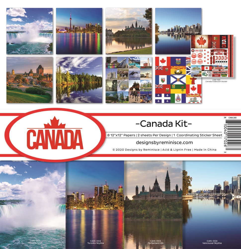 12X12 Collection Kit, Canada