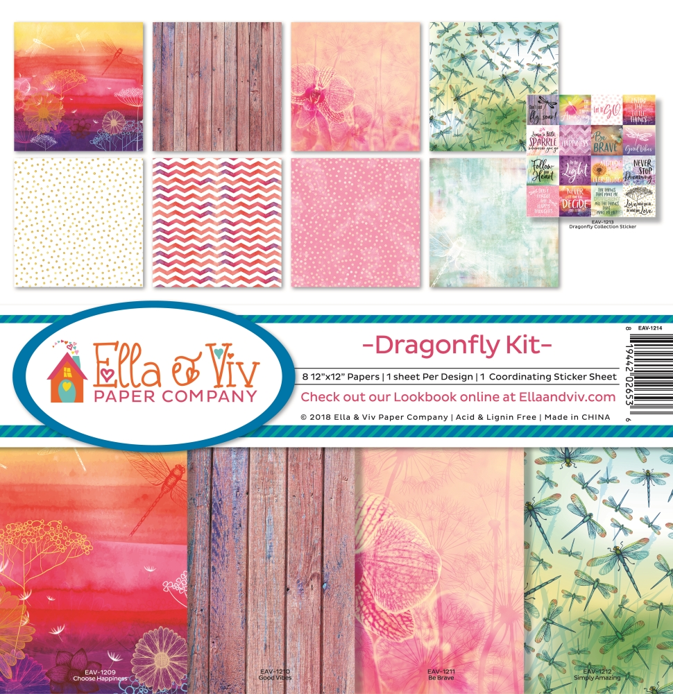 12X12 Collection Kit, Dragonfly