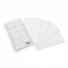 Sheets, Sticky Grid (2 1/2 x 4 1/2 - 5pk)