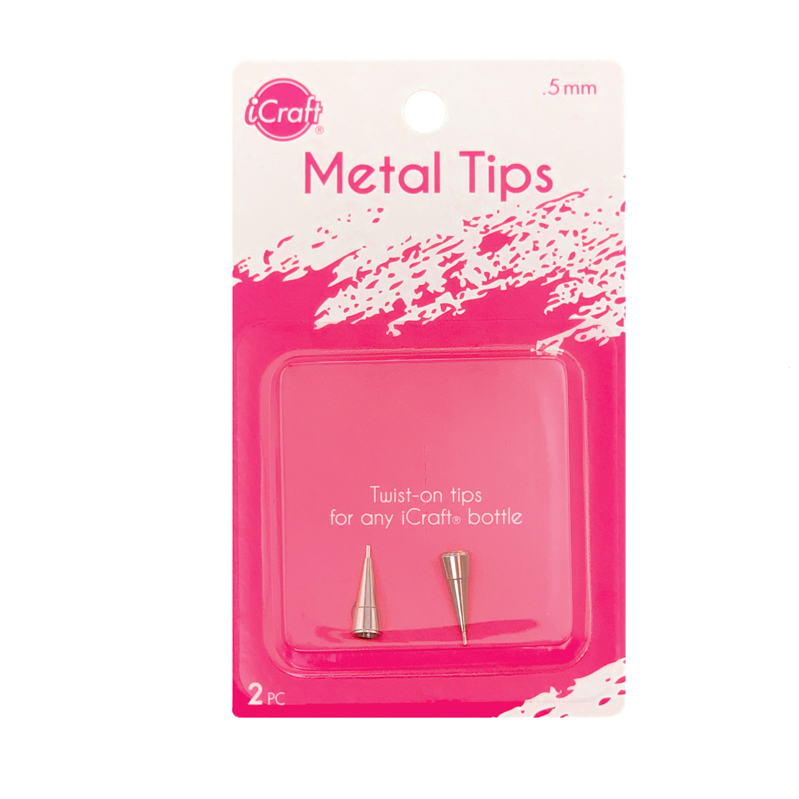 iCraft Metal Tips (For Liquid Adhesives/2pk)