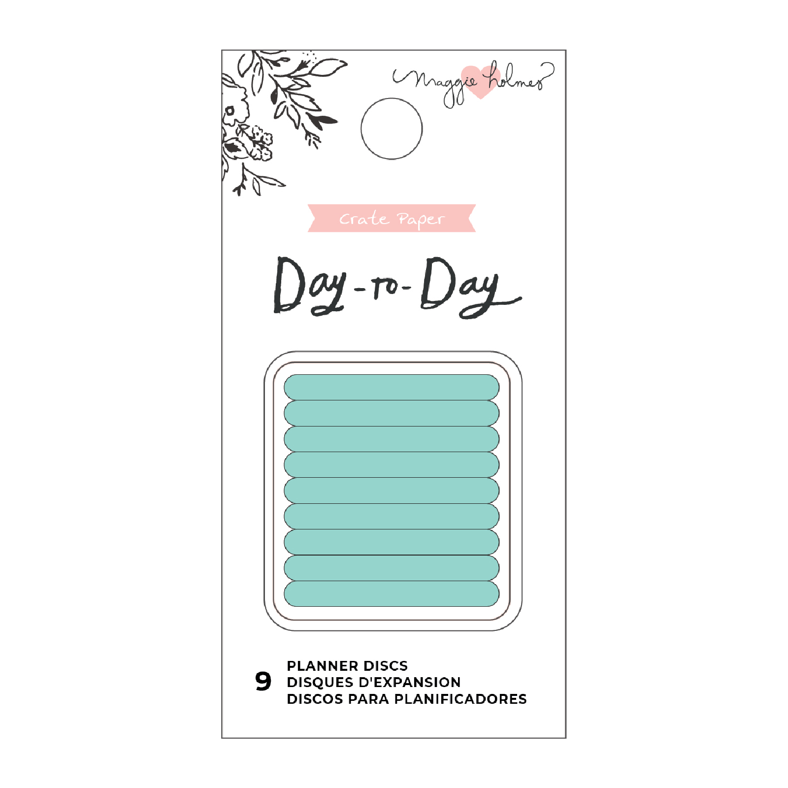 Planner Discs, Small - Mint