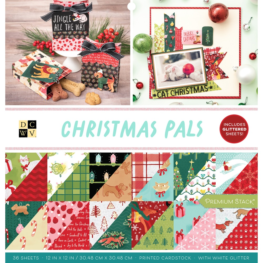 12X12 Premium Stack, Christmas - Christmas Pals