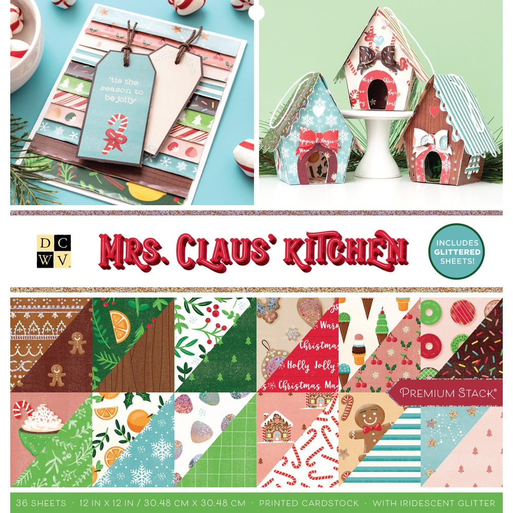 12X12 Premium Stack, Christmas - Mrs. Claus' Kitchen