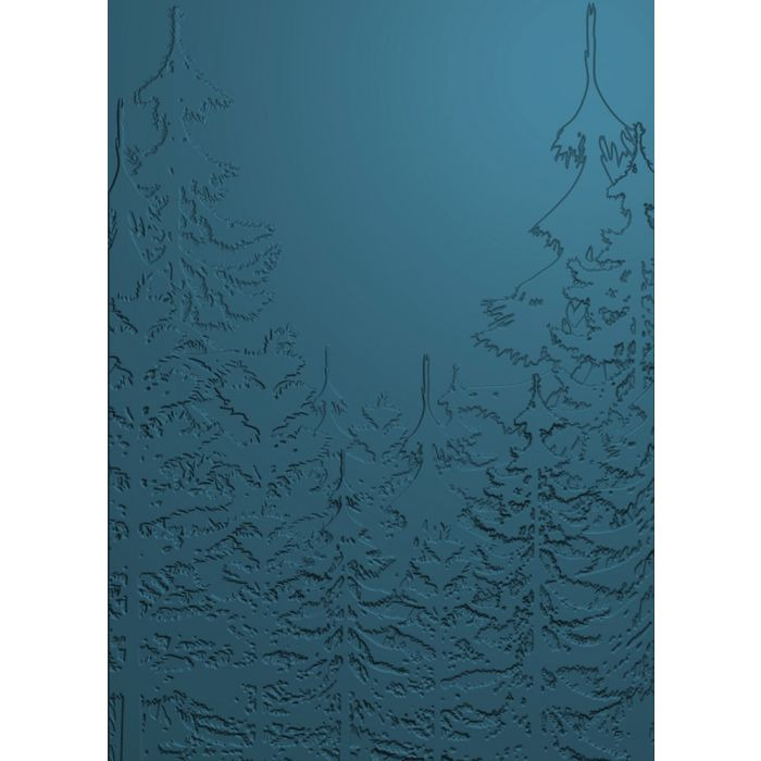 Crafter's Companion 3D Embossing Folder, EC- Pine Forest