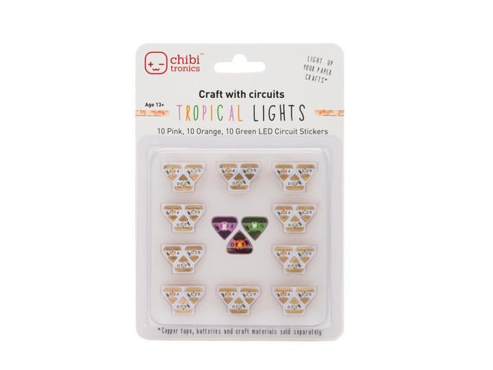Chibitronics Tropical LED Mega Pack