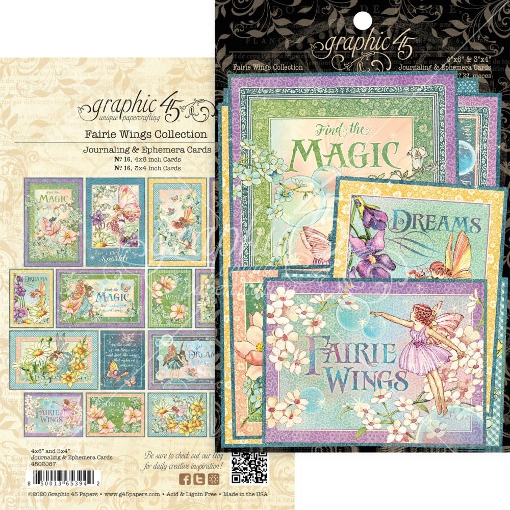 Ephemera & Journaling Cards, Fairie Wings