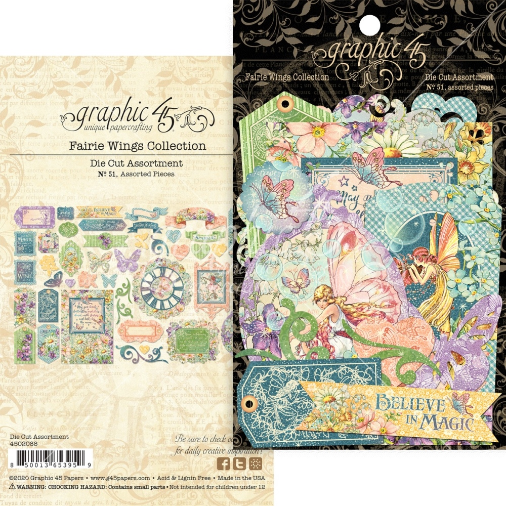 Die Cut Assortment, Fairie Wings