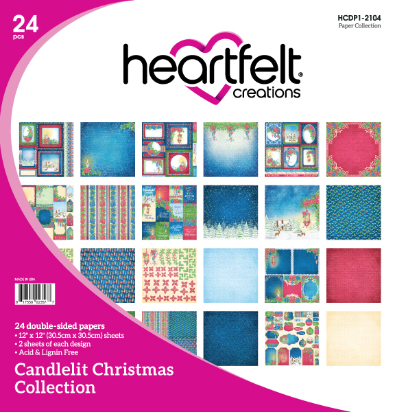 12X12 Paper Collection, Candlelit Christmas