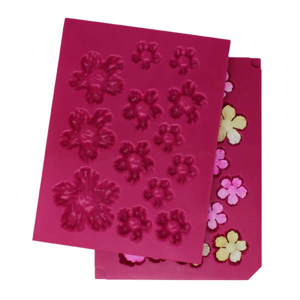 Flower Shaping Mold, 3D Wild Rose (Small)