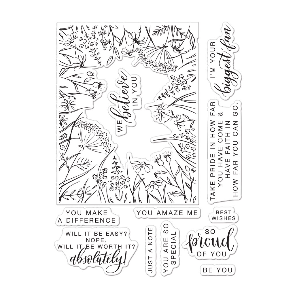Clear Stamp, HA + Pinkfresh Studio - You Make a Difference