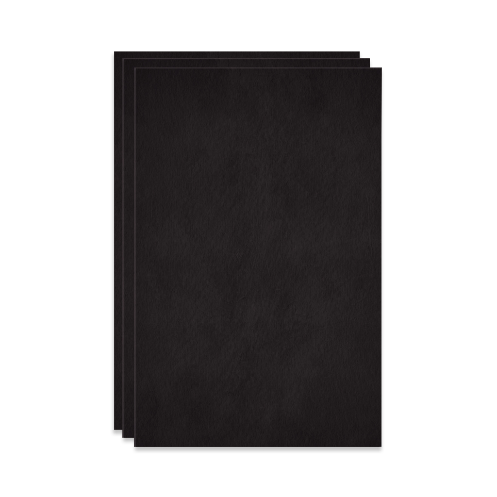 Watercolor Paper, Black