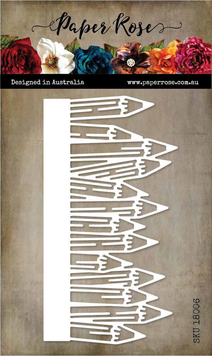 Die, Arty Love - Pencil Border
