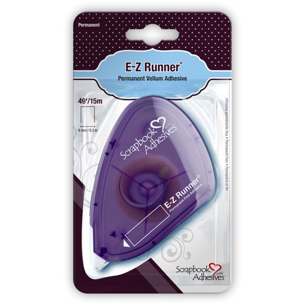 E-Z Runner, Permanent Fine Adhesive Dispenser