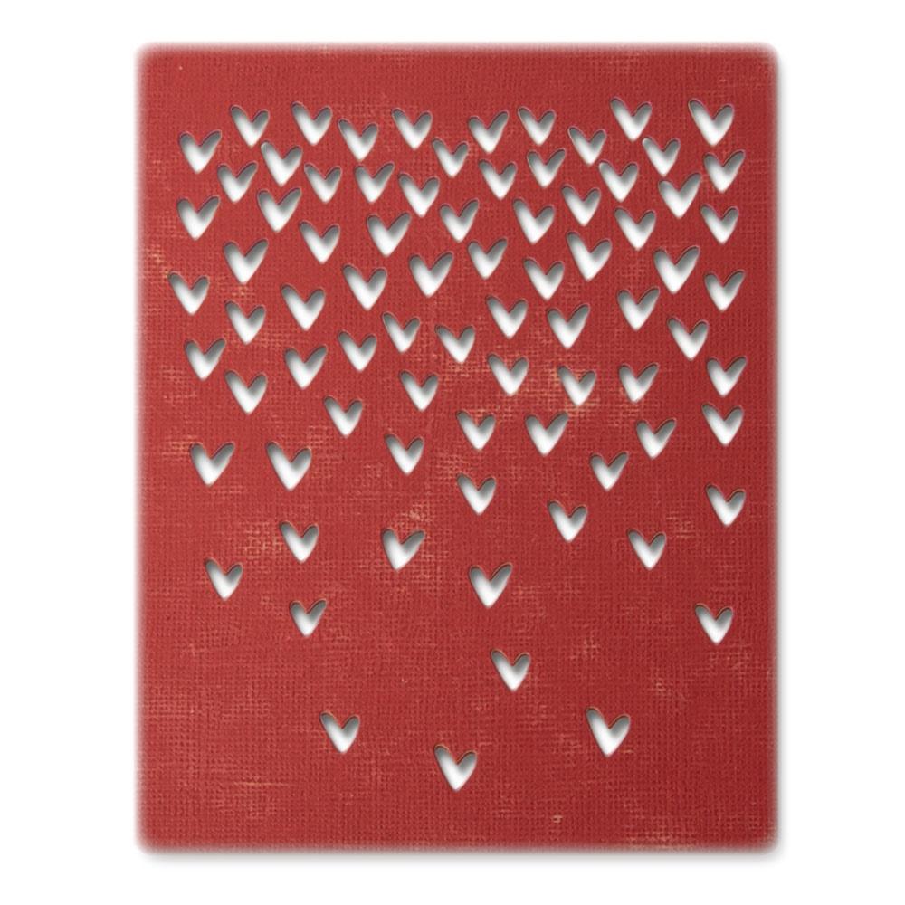 Thinlits Die Set, Falling Hearts (4pk)