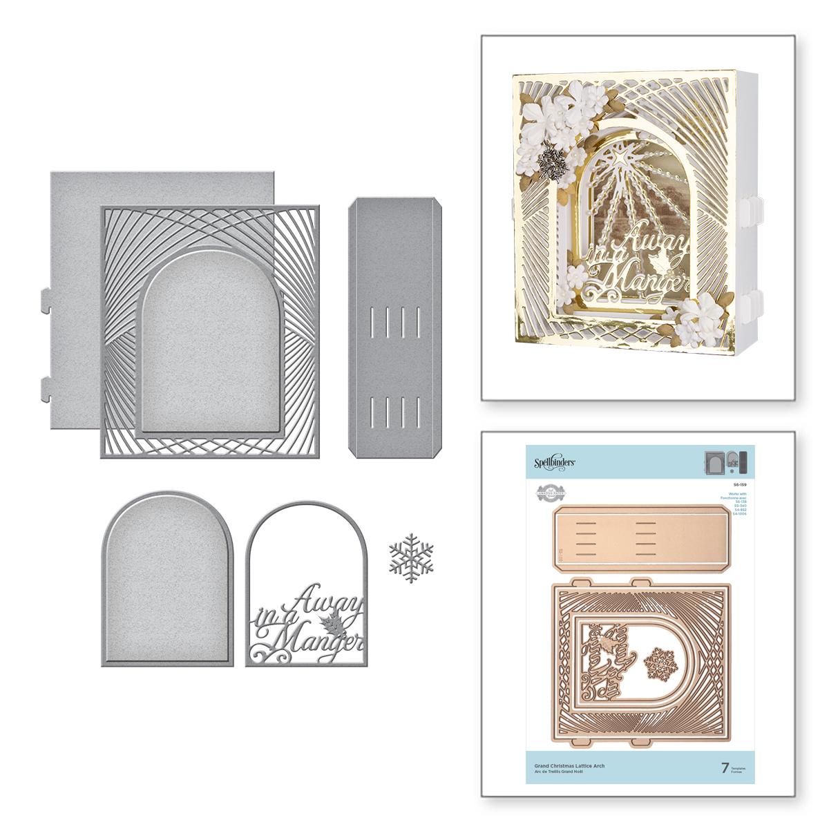 Die, Grand Christmas Lattice Arch