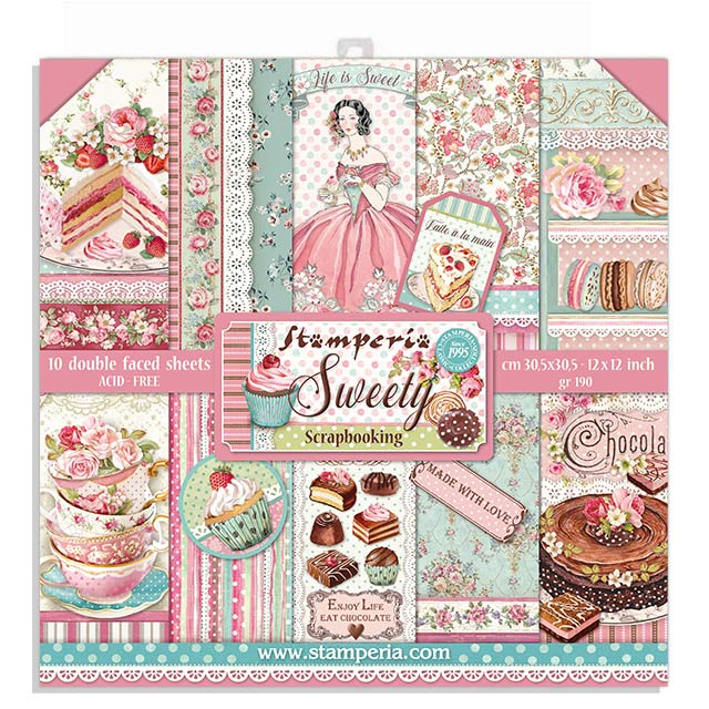 30X30cm (12X12) Paper Pack, Sweety