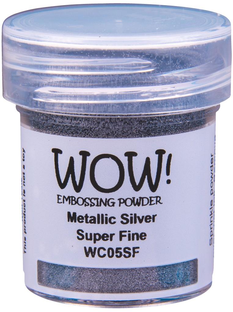 Metallic Embossing Powder, Super Fine - Silver