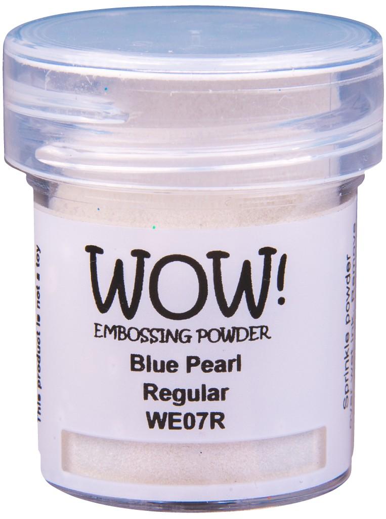 Pearlescent Embossing Powder, Regular - Blue