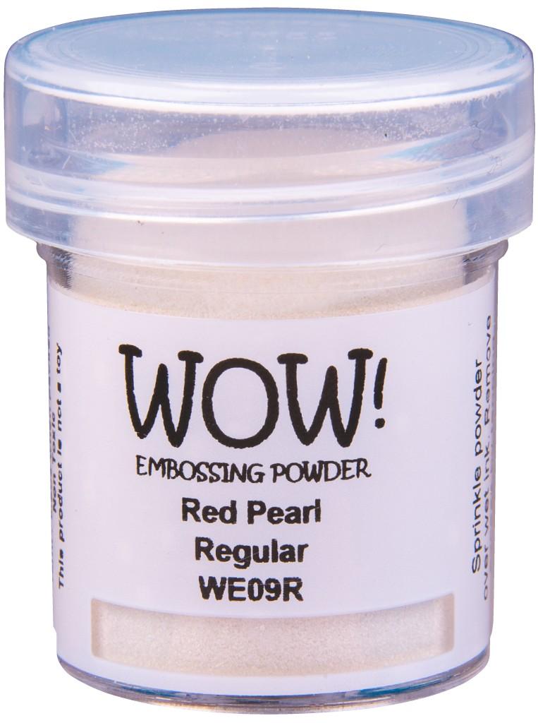 Pearlescent Embossing Powder, Regular - Red