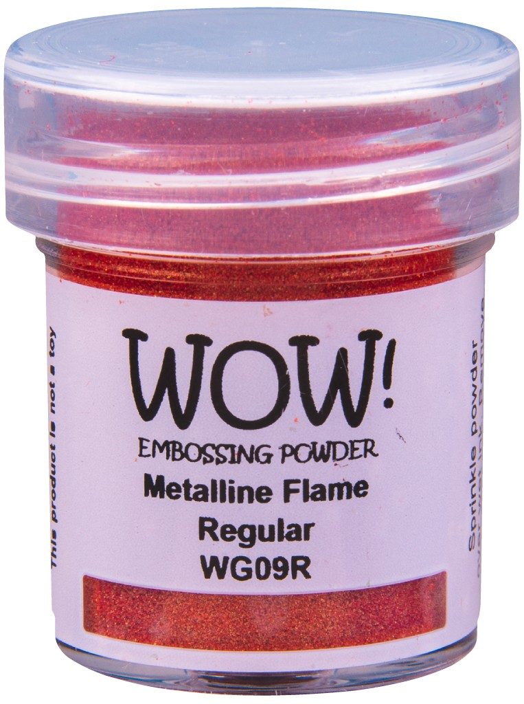 Metalline Embossing Powder, Regular - Flame