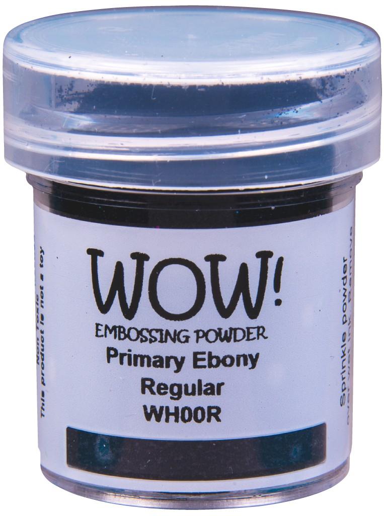 Primary Embossing Powder, Regular - Ebony