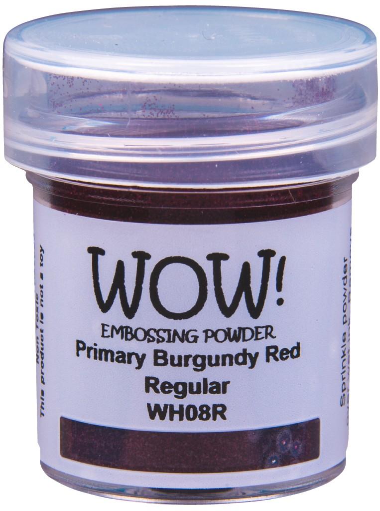 Primary Embossing Powder, Regular - Burgundy Red