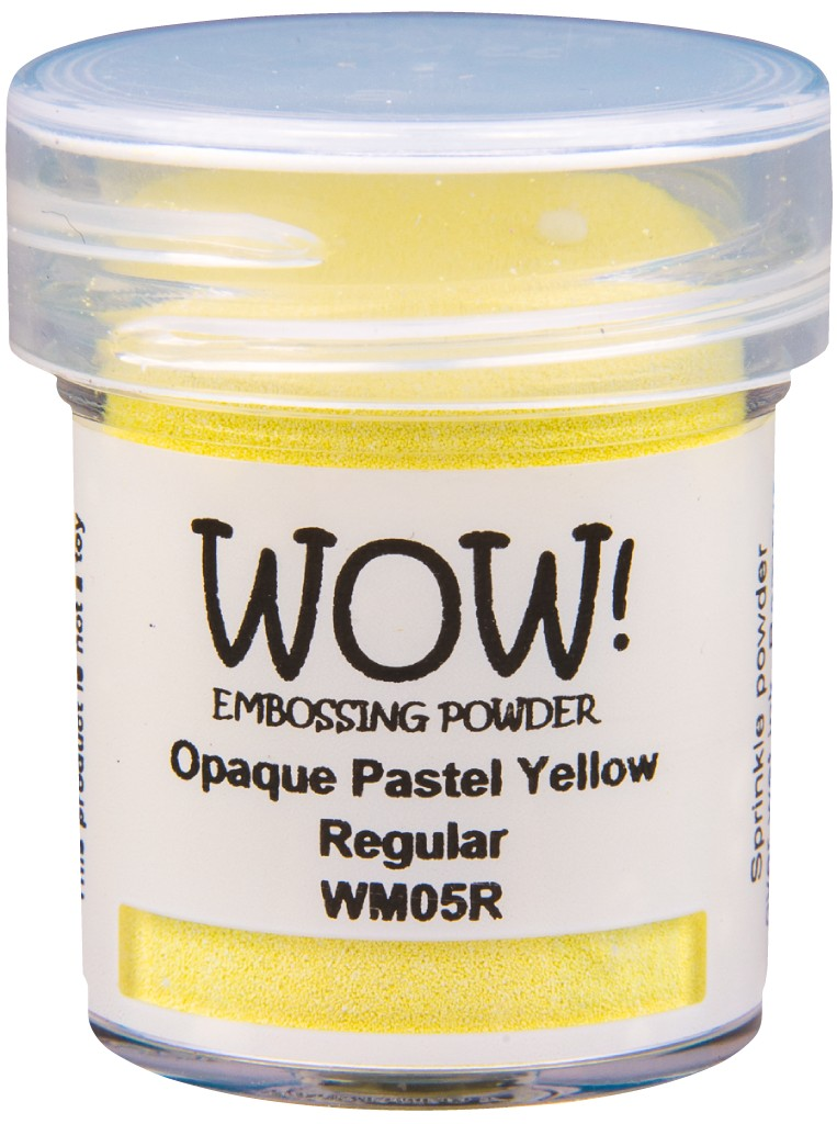 Opaque Pastel Embossing Powder, Regular - Yellow
