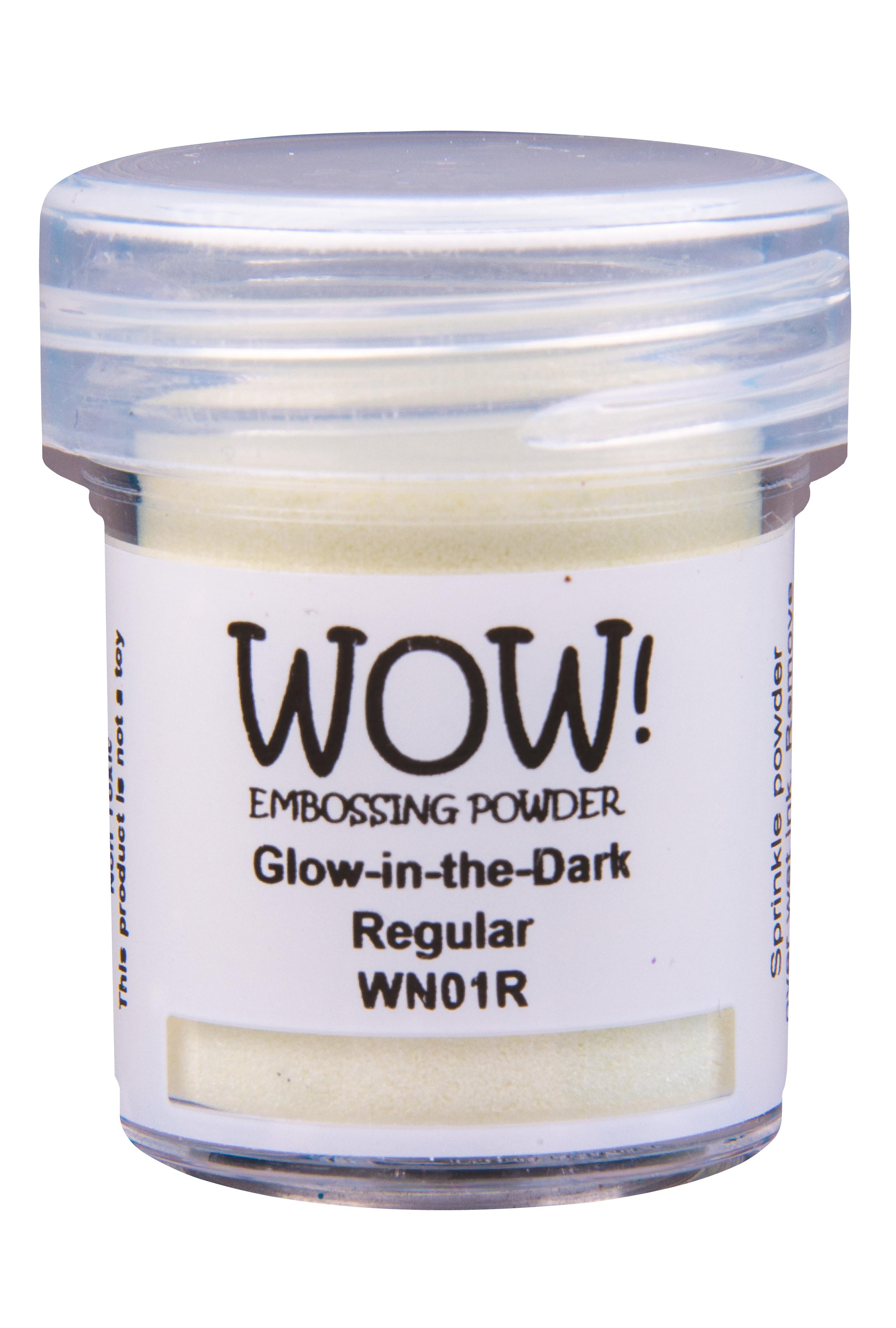 Special Effect Embossing Powder, Regular - Glow-In-The-Dark