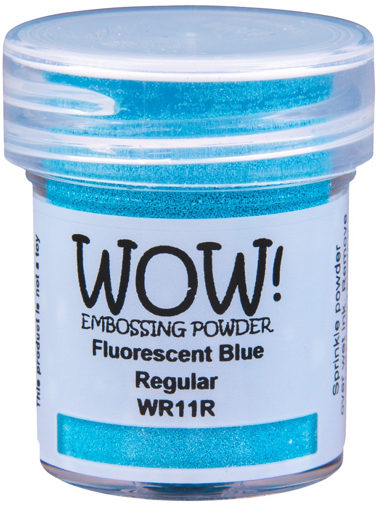 Flourescent Embossing Powder, Regular - Blue