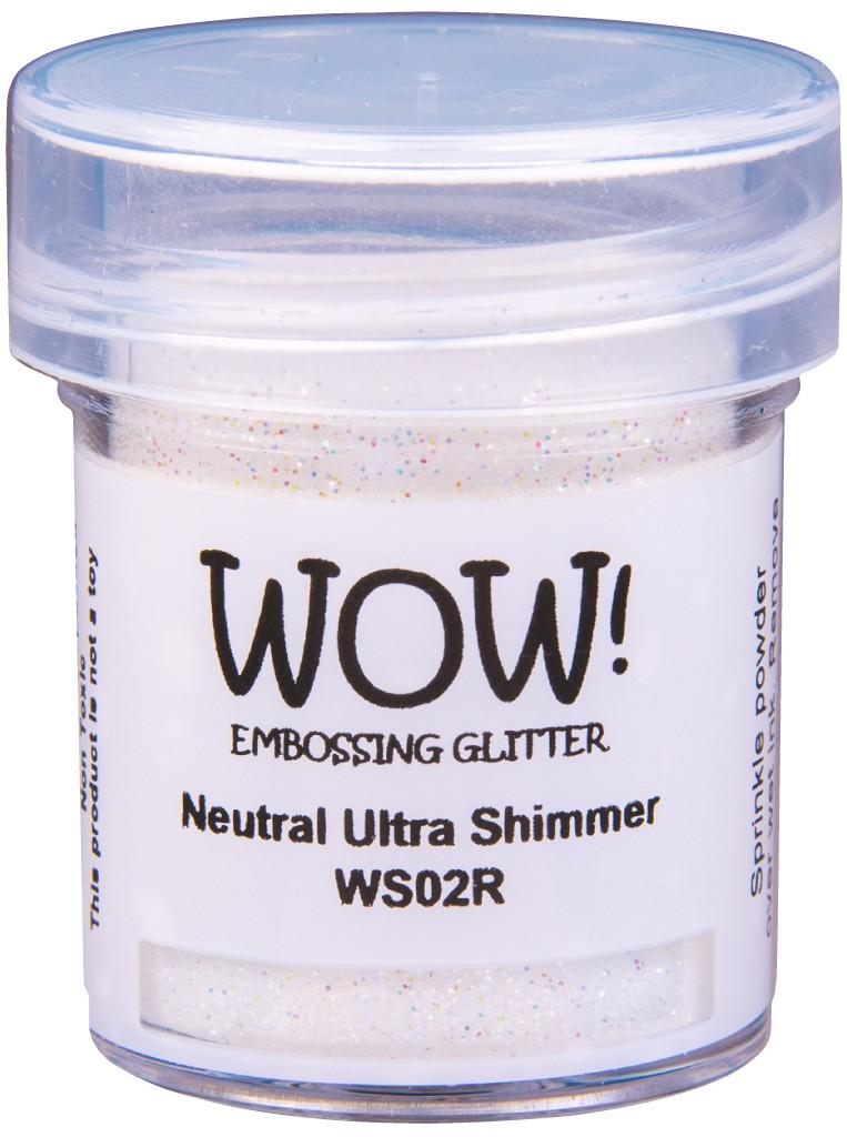 Embossing Glitter, Regular - Neutral Ultra Shimmer