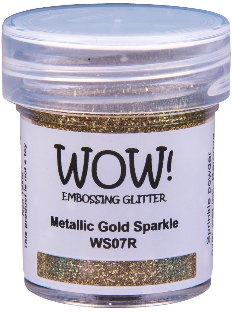 Embossing Glitter, Regular - Metallic Gold Sparkle