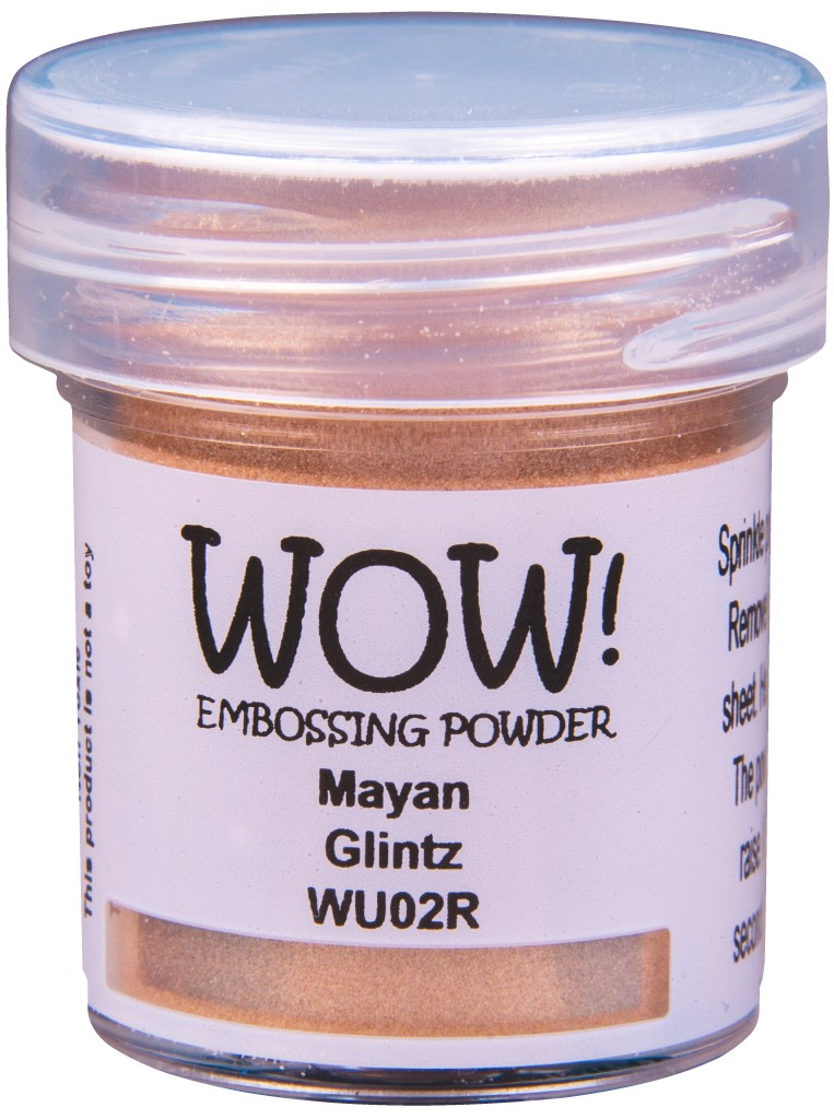 Glintz Embossing Powder, Regular - Mayan
