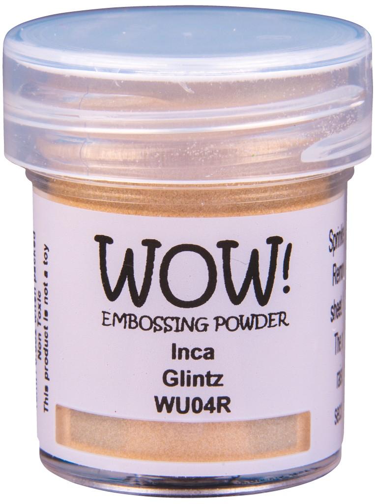 Glintz Embossing Powder, Regular - Inca