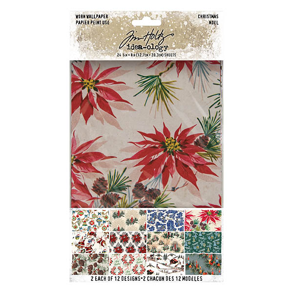 Paperie, Worn Wallpaper (Christmas 2020)