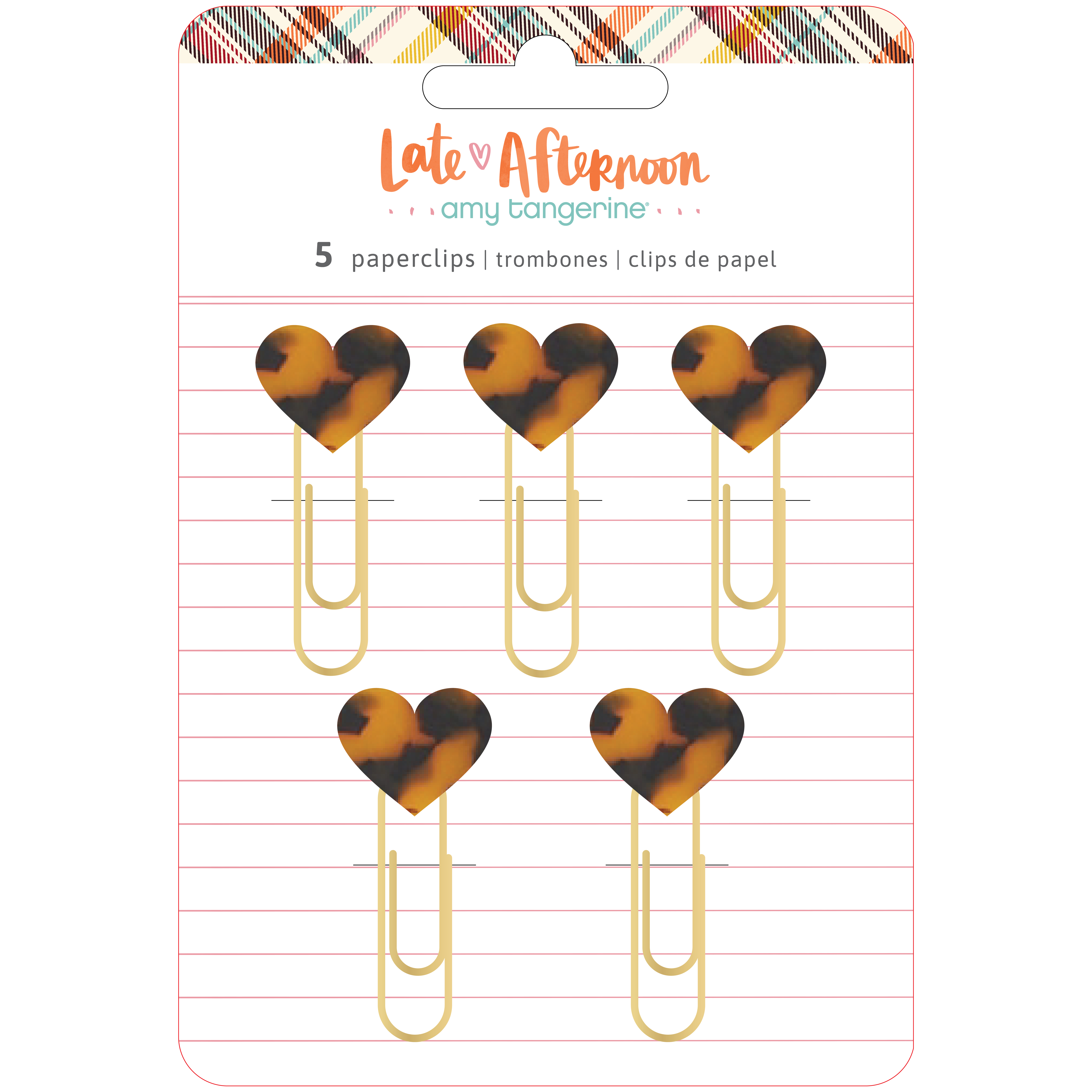 Paperclips, Late Afternoon - Heart