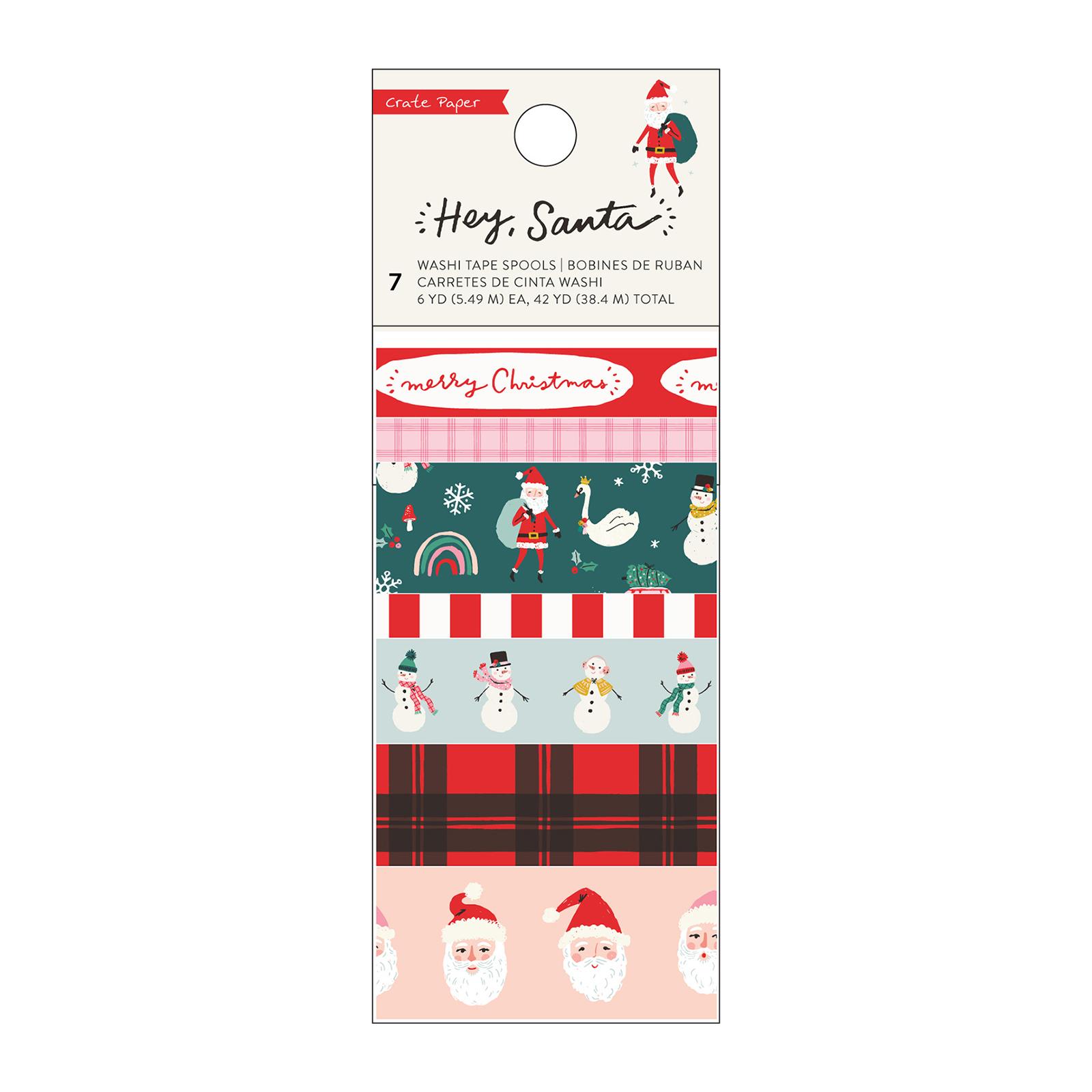 Washi Tape, Hey Santa