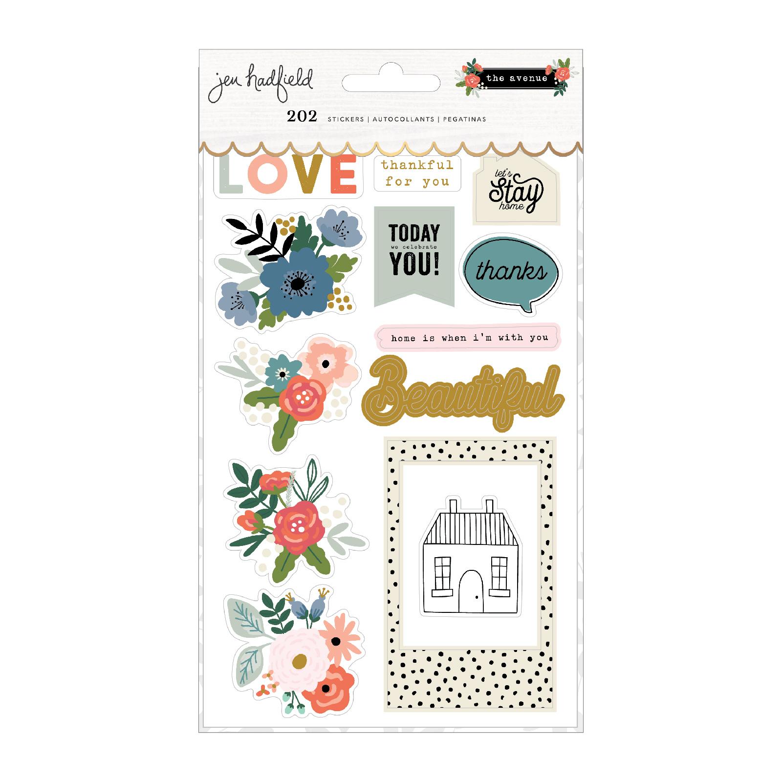 Sticker Book, The Avenue
