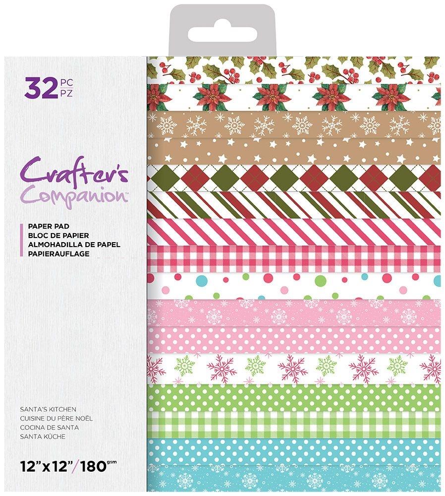 12X12 Paper Pad, Santa's Kitchen